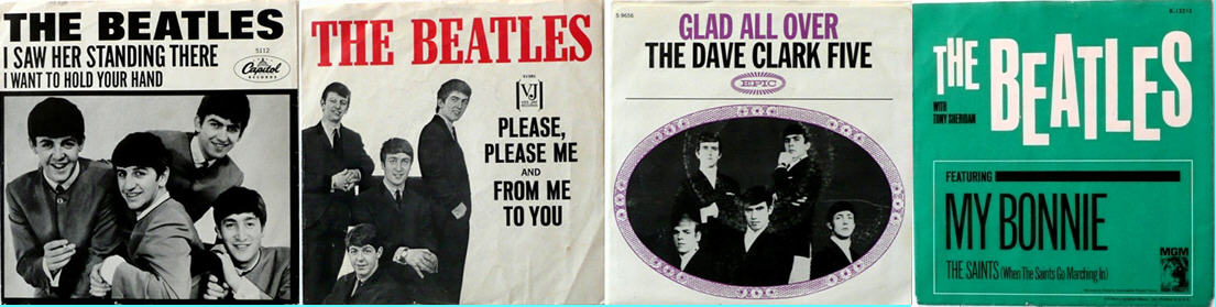 Beatles and Dave Clark Five - The British Invasion