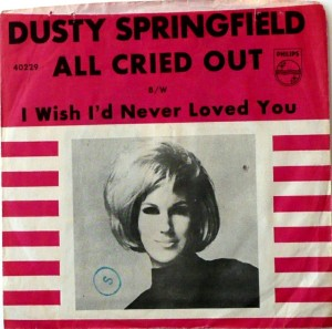 Springfield, Dusty - Philips 40229 - All Cried Out - PS