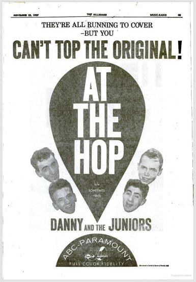 Danny & the Juniors' Monster Hit - Number 1 for 7 Weeks