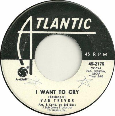 ATLANTIC 2175 - TREVOR VAN - DJ 1963 A