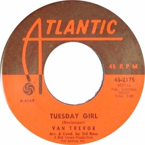 Atlantic 2175 - Trevor, Van - Tuesday Girl