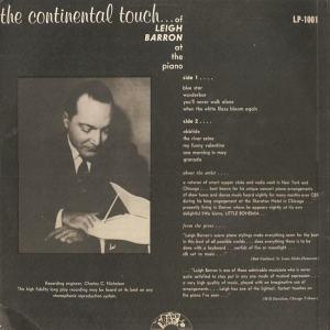 Band Box 1001 - Barron, Leigh B