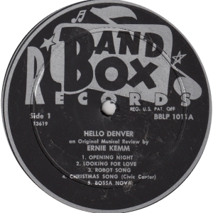Band Box 1011 - Kemm, Ernie - Hello Denver