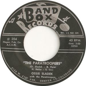 Band Box 204 - Sladek, Ossie & Paratroopers - The Paratroopers