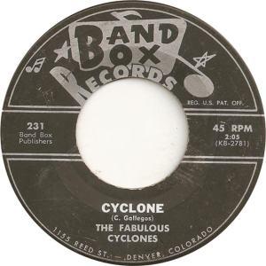 Band Box 231 - Fabulous Cyclones - Cyclone
