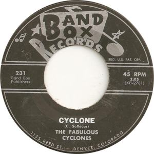 Band Box 231 - Fabulous Cyclones - Cyclone
