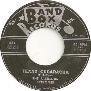 Band Box 231 - Fabulous Cyclones - Texas Cucaracha