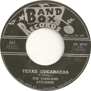 Band Box 231 - Fabulous Cyclones - Texas Cucaracha