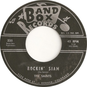 Band Box 235 - Saints - Rockin Siam