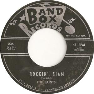 Band Box 235 - Saints - Rockin Siam