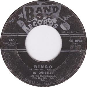 BAND BOX 246 - WHATLEY ED COMM B