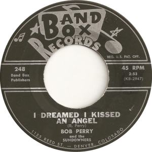 Band Box 248 - Perry, Bob & Sundowners - I dreamed