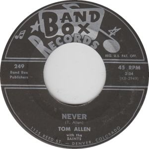 Band Box 249 - Allen, Tom - B