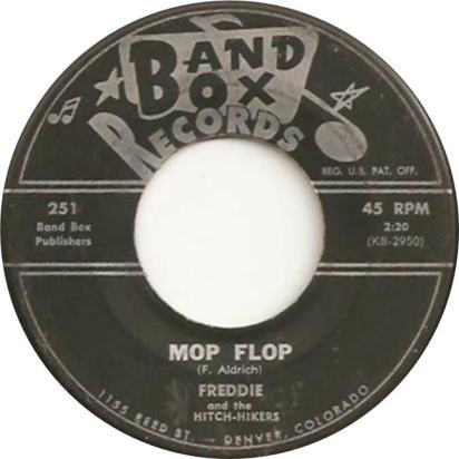 Band Box 251 - Freddie & Hitch-Hikers - Mop Flop