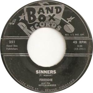 Band Box 251 - Freddie & Hitch-Hikers - Sinners