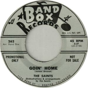 Band Box 262 DJ - Saints - Goin' Home