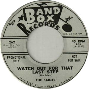 Band Box 262 DJ - Saints - Watch Out for That Last Step