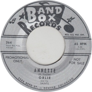 BAND BOX 264 DJ - ORLIE & SAINTS A
