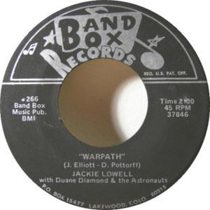 Band Box 266 - Lowell, Jackie & Duane Diamond & Astronauts - War Path
