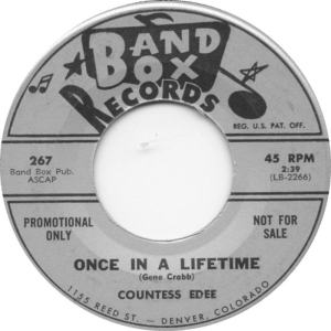 Band Box 267 DJ - Countess Edee - Once in a Lifetime