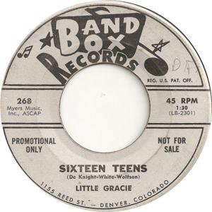 Band Box 268 - Little Gracie - Sixteen Teens DJ