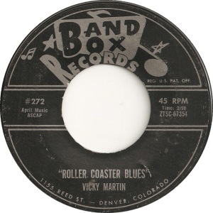 Band Box 272 - Martin, Vicky - Roller Coaster Blues black