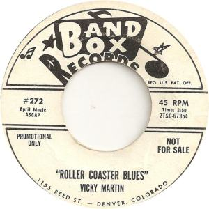 Band Box 272 - Martin, Vicky - Roller Coaster Blues