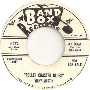 Band Box 272 - Martin, Vicky - Roller Coaster Blues