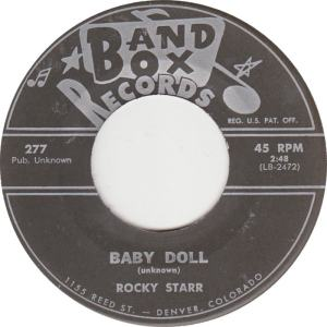 Band Box 277 C - Starr, Rocky - Baby Doll