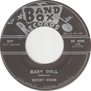 Band Box 277 C - Starr, Rocky - Baby Doll