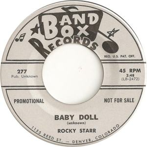 Band Box 277 - Starr, Rocky - Baby Doll