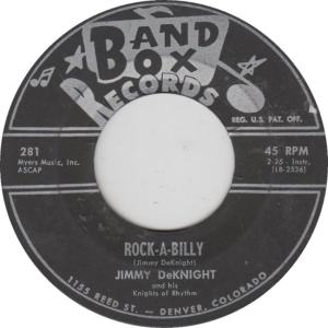 BAND BOX 281 - DEKNIGHT, JIMMY - ROCK A BILLY