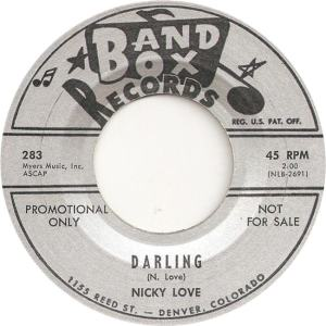 Band Box 283 - Love, Nicky - Darling DJ