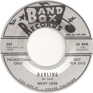 Band Box 283 - Love, Nicky - Darling DJ