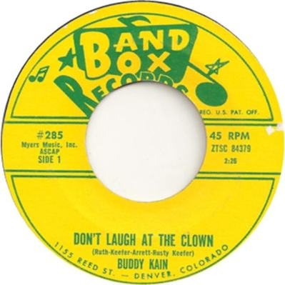Band Box 285 - Kain, Buddy - Don't Laugh at the Klown