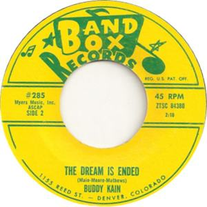 Band Box 285 - Kain, Buddy - The Dream Has Ended