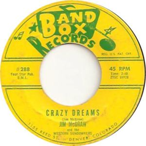 Band Box 288 - McGraw, Jim & Western Sundowners - Crazy Dreams