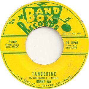 Band Box 289 - Kay, Ronny - Tangerine
