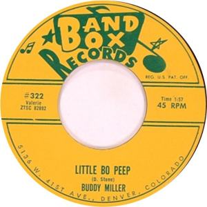 Band Box 322 - Miller, Buddy & Hi Lo's - Little Bo Peep