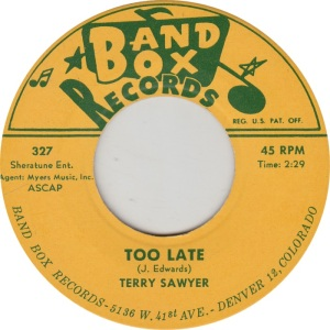 BAND BOX 327 - TERRY SAWYER STD B
