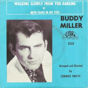Band Box 335 - Miller, Buddy - Walking Slowly from You Darling PS
