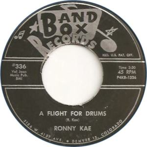 Band Box 336 - Kae, Ronny - A Flight for Drums