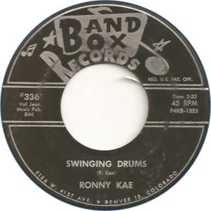Band Box 336 - Kae, Ronny - Swinging Drums