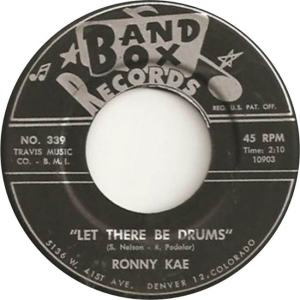 Band Box 339 - Kae, Ronnie - Let There Be Drums