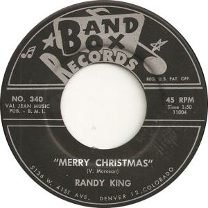 Band Box 340 - King, Randy - Merry Christmas