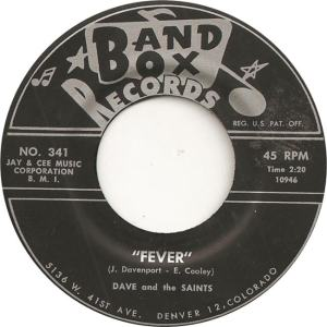 Band Box 341 - Dave & Saints - Fever