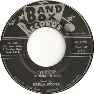 Band Box 347 - Wolter, Ursula - Wheels