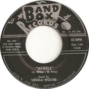 Band Box 347 - Wolter, Ursula - Wheels