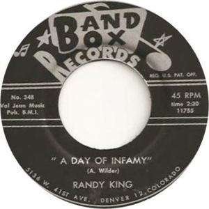 Band Box 348 - King, Randy - A Day of Infamy