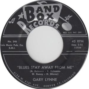 Band Box 349A - Lynne, Gary - Blues